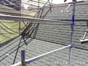 中折れ屋根