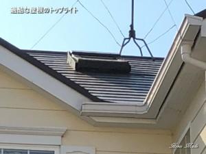過酷な屋根のトップライト