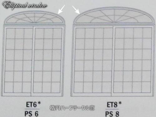 Elliptical window