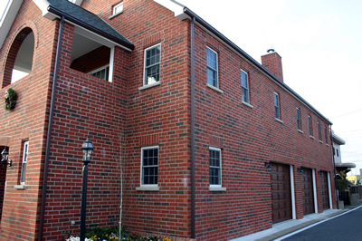 Brick Cladding For Adults With Triple Built In Garage Mr